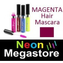 New Stargazer Colour Streak Hair Mascara - UV Neon Magenta