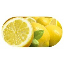 Funky Lemon Contact Lens soaking Case With Mirror