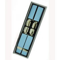 Men's Hardwearing Sky Blue 25mm Fashion Braces
