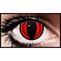 (90 Day Wear) Nine Tails Naruto Anime Coloured Contact Lenses