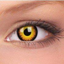 ColourVue Orange Werewolf Crazy Contact Lenses