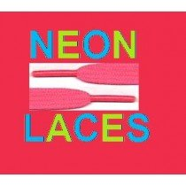 New Pink Neon Laces For Shoes, Boots, Pumps & clubing