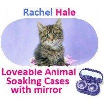 Cute Kitten Rachel Hale Contact Lens Soaking Case