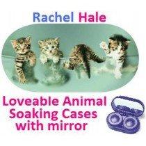 Kittens In a Bowl Rachel Hale Contact Lens Soaking Case