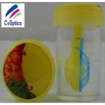 Pineapple Fruit Contact Lens Storage Soaking Barrel Case