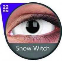 22mm Snow Witch White Sclera Contact Lenses