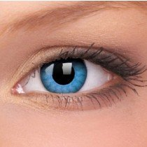 ColourVue Solar Blue Crazy Contact Lenses
