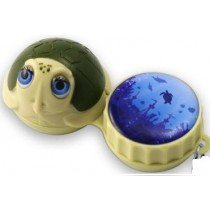 Turtle 3D Contact Lenses Storage Soaking Case