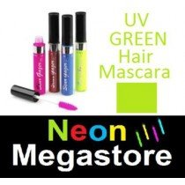 New Stargazer Colour Streak Hair Mascara - UV Neon Green
