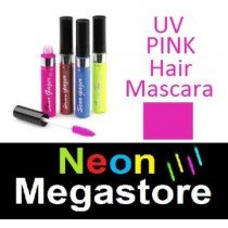 New Stargazer Colour Streak Hair Mascara - UV Neon Pink