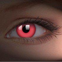 ColourVue Red UV Glow Crazy Contact Lenses