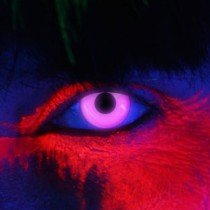 Edit's iGlow Range Violet UV Contact Lenses