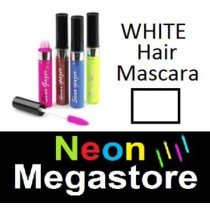 New Stargazer Colour Streak Hair Mascara - UV Neon White