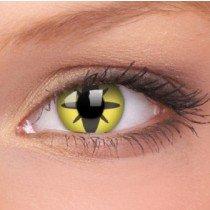 ColourVue Yellow Flower Crazy Contact Lenses