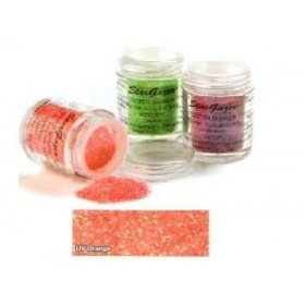 Stargazer UV Reactive Neon Orange Glitter Shaker