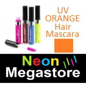 New Stargazer Colour Streak Hair Mascara - UV Neon Orange