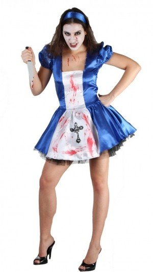 Evil Alice Fancy Dress Halloween Costume
