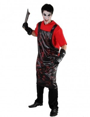 Bloody Butcher Fancy Dress Halloween Costume