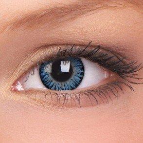 ColourVue Blue 3 Tones Coloured Contact Lenses