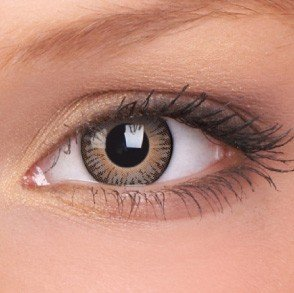 ColourVue Brown 3 Tones Coloured Contact Lenses