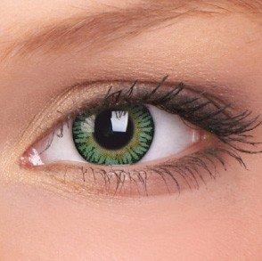ColourVue Green 3 Tones Coloured Contact Lenses