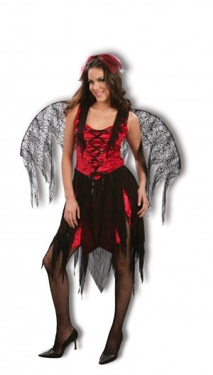 Hot Wings Fancy Dress Halloween Costume