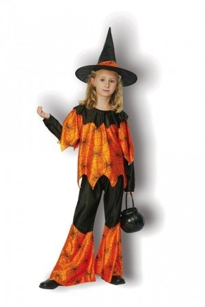 Funky Spider Witch Fancy Dress Halloween Costume