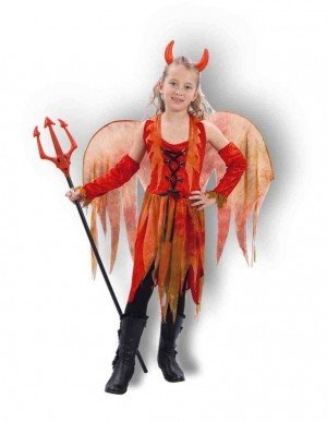 Flaming Hot Fancy Dress Halloween Costume
