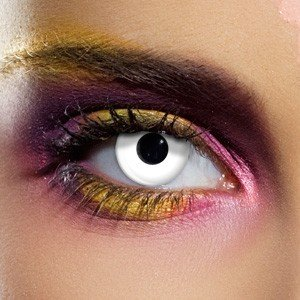 1 Day Use Whiteout Crazy Coloured Contact Lenses