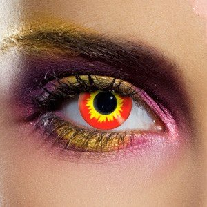 1 Day Use Wildfire Crazy Coloured Contact Lenses