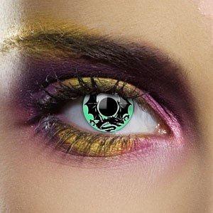 Edit's Alchemy Range Emerald Dragon Contact Lenses