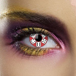 Edit's UL13 Range Lucky Dice Contact Lenses