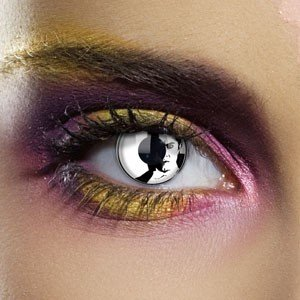 Edit's Dracula Range Dracula's Face Contact Lenses