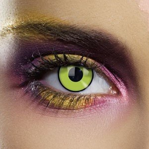 Edit's Frankenstein Range Green Contact Lenses