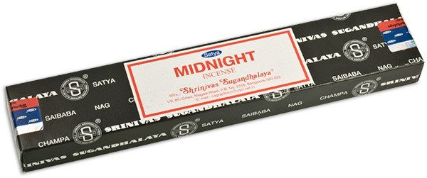 Midnight 15 Gram Pack Of Satya Nag Champa Incense Sticks