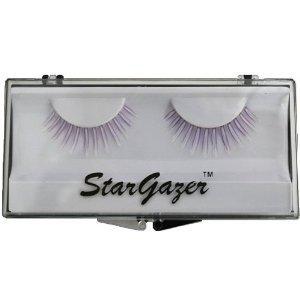 Stargazer Reusable False Eyelashes UV Reactive Purple #38