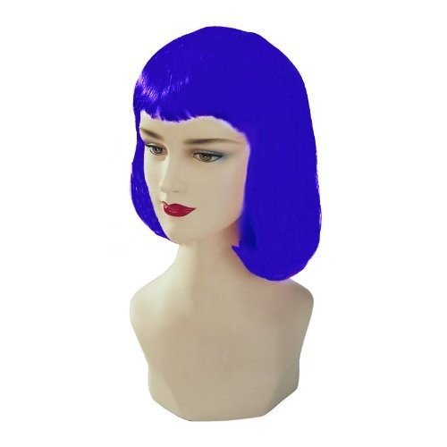 Blue Stargazer Adjustable Pulp Style Fashion Wig