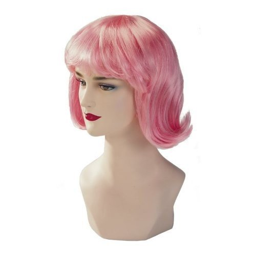Hot Pink Stargazer Adjustable Terry Style Fashion Wig