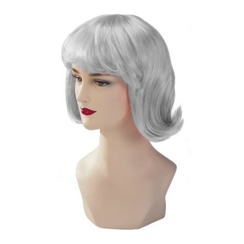 Silver Stargazer Adjustable Terry Style Fashion Wig