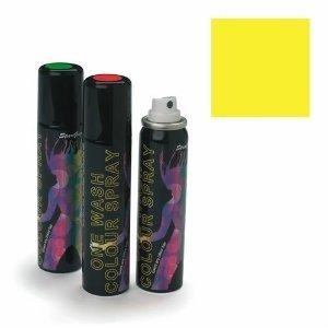 Stargazer Yellow (UV Reactive) One Wash Colour Hair Spray 75m
