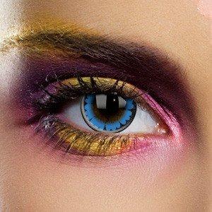 Edit's Big Eye Range Cool Blue Contact Lenses