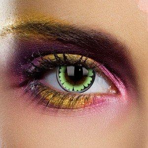 Edit's Big Eye Range Party Green Contact Lenses
