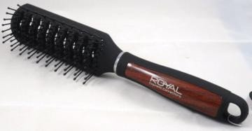 Black Royal Cosmetic Connections Tunnel Vent Hair Brush