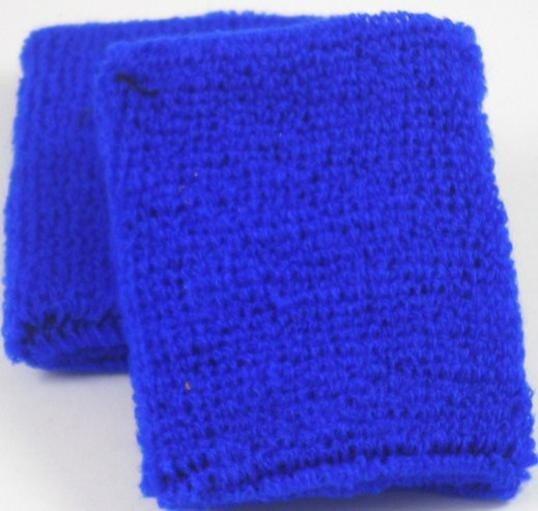 Plain Dark Blue Sweatband / Armband