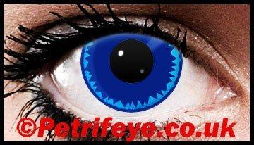 Blue Burst Coloured Contact lenses