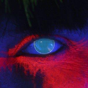 Edit's iGlow Range Blue Screen Contact Lenses