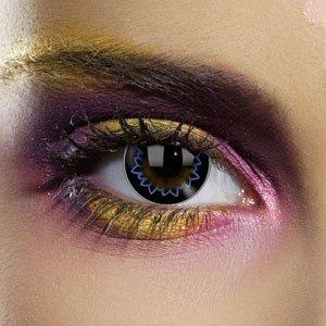Edit's Big Eye Range Butterfly Blue Contact Lenses