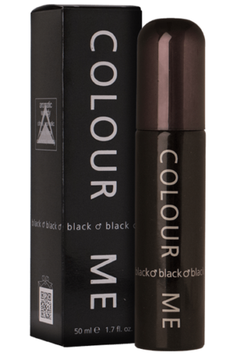 Milton Lloyd Mens Perfume - Colour Me Black - 50ml EDT - Eau De Toilette