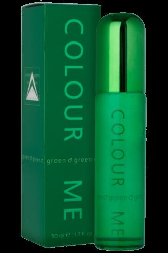 Milton Lloyd Mens Perfume - Colour Me Green - 50ml EDT - Eau De Toilette