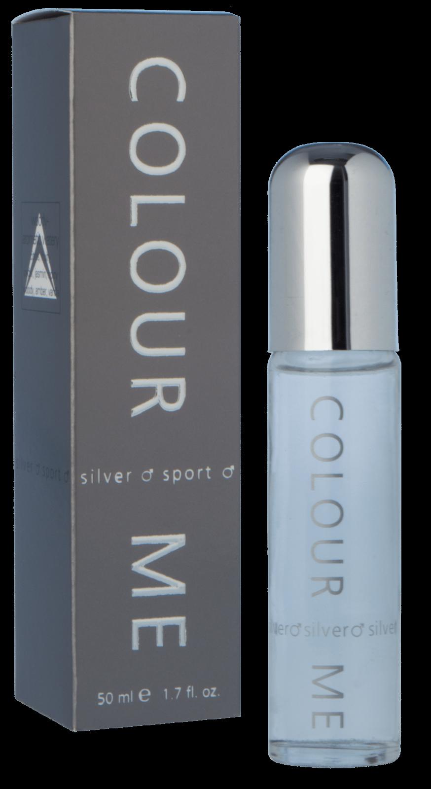 Milton Lloyd Mens Perfume - Colour Me Silver Sport - 50ml EDT - Eau De Toilette